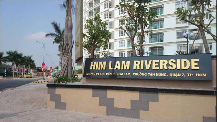 Căn hộ chung cư Him Lam Riverside Quận 7