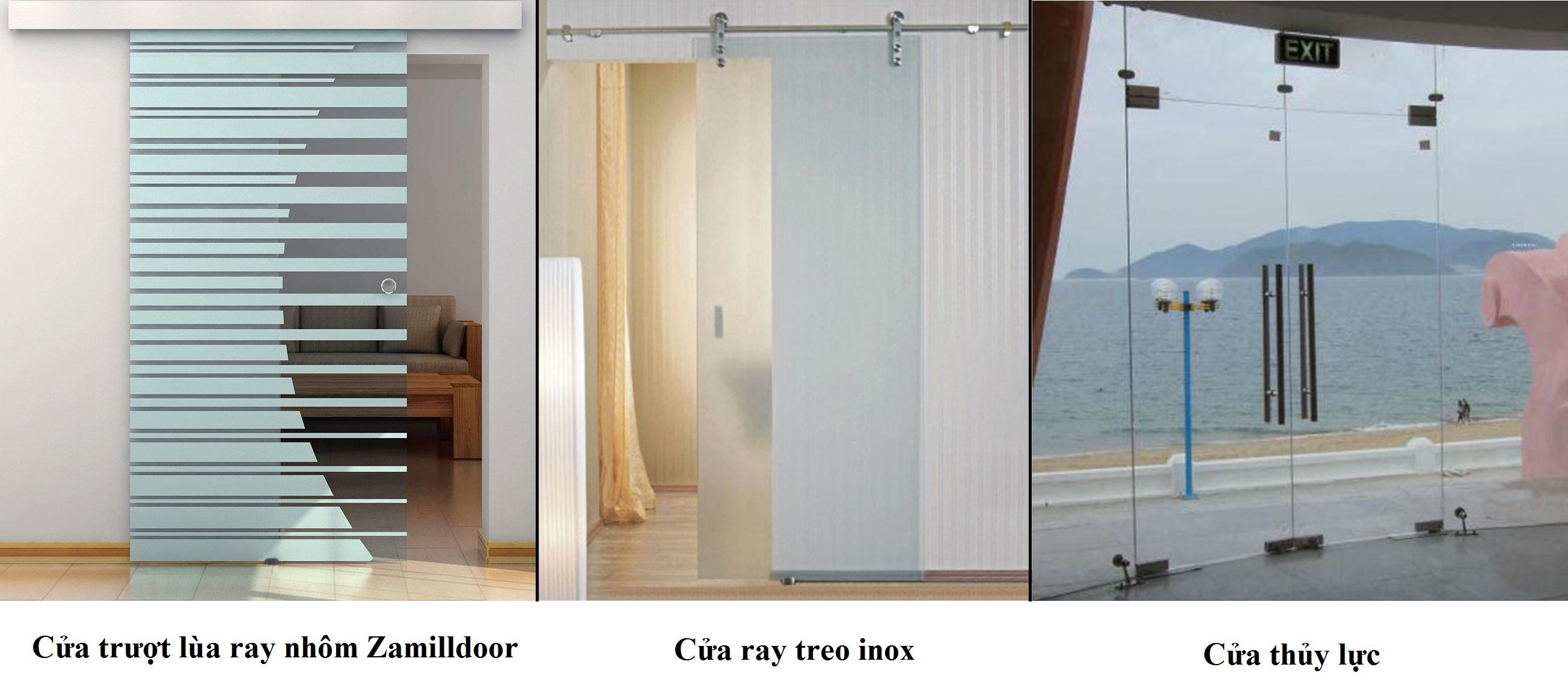 So sánh cửa trượt lùa và cửa thủy lực