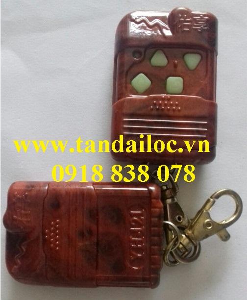 Remote cửa cuốn giả gỗ
