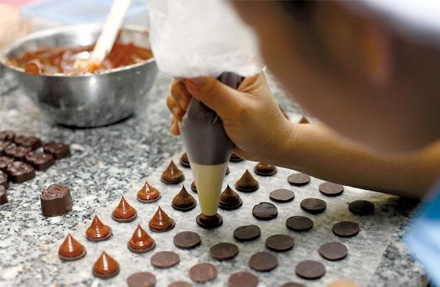 cách làm socola