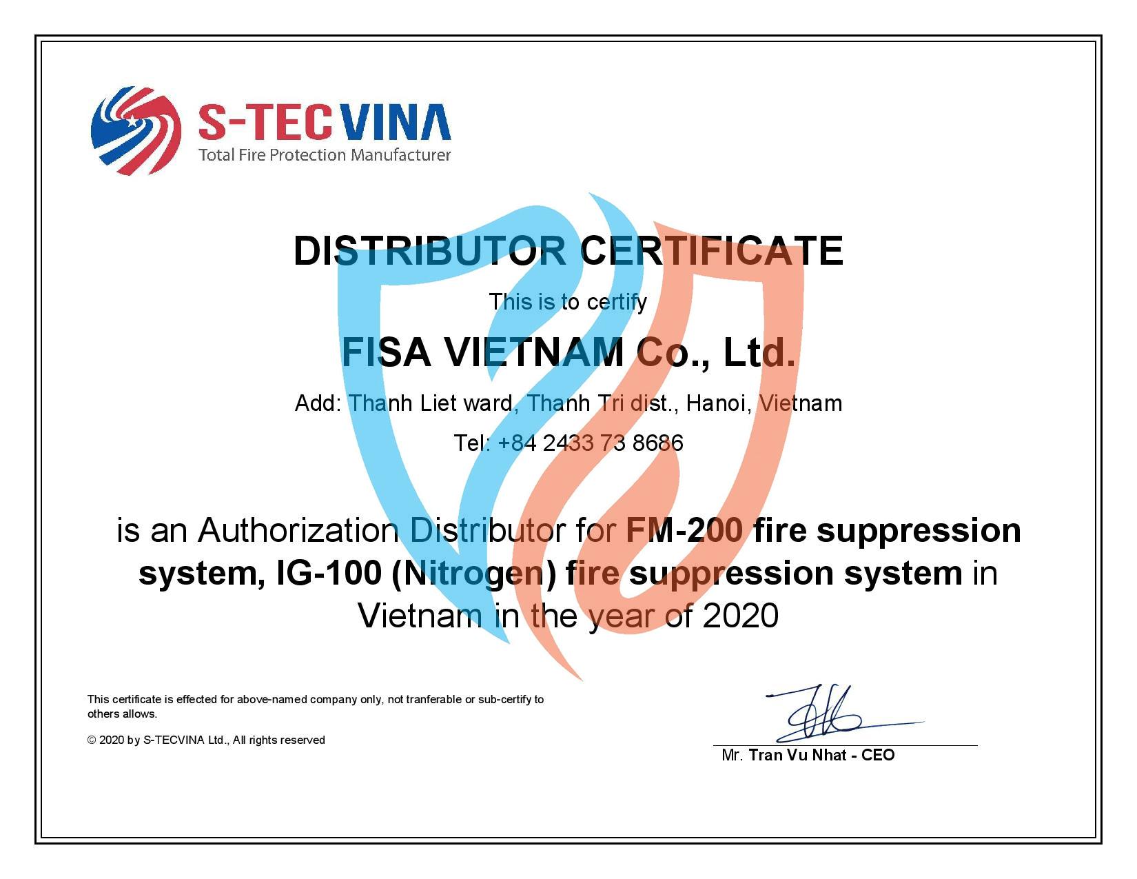 Chứng nhận GST với FISA Việt Nam