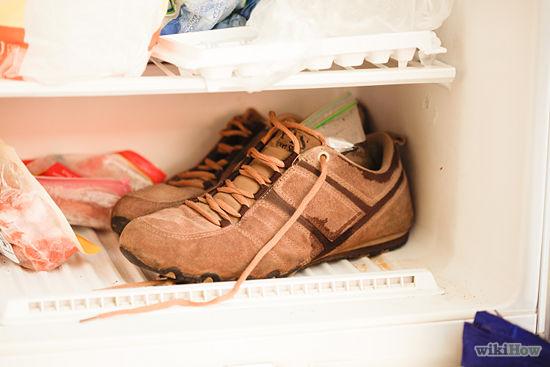 cách làm sạch giày da lộn 10