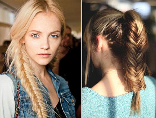 những kiểu tóc thắt bím đẹp 1