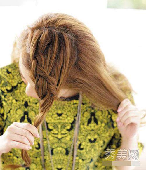những kiểu tóc thắt bím đẹp 10