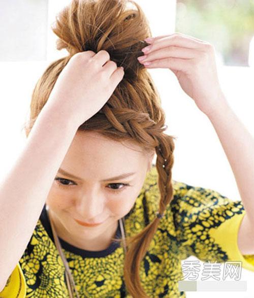 những kiểu tóc thắt bím đẹp 11