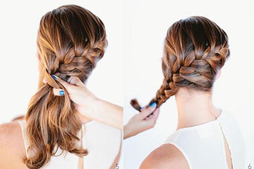 những kiểu tóc thắt bím đẹp 14-1