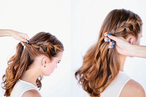 những kiểu tóc thắt bím đẹp 14