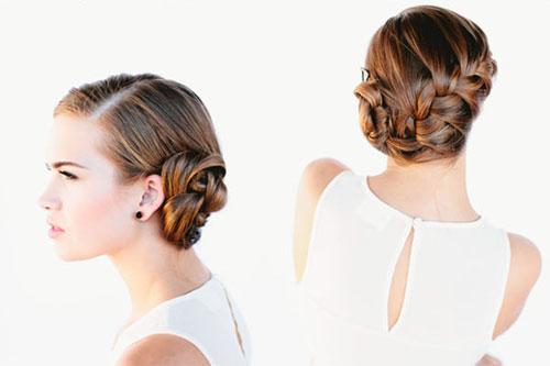 những kiểu tóc thắt bím đẹp 16
