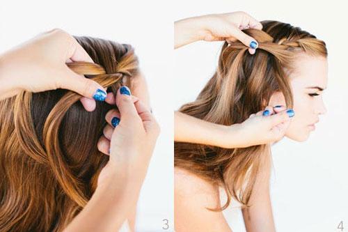 những kiểu tóc thắt bím đẹp 18