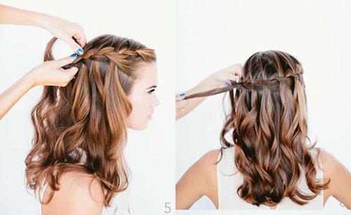 những kiểu tóc thắt bím đẹp 19