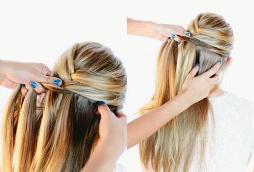 những kiểu tóc thắt bím đẹp 3
