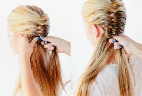 những kiểu tóc thắt bím đẹp 4