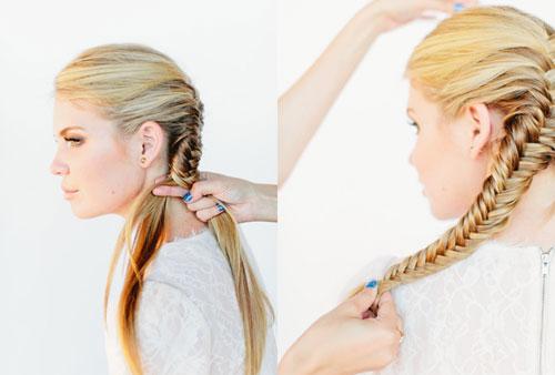 những kiểu tóc thắt bím đẹp 5