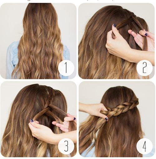 những kiểu tóc thắt bím đẹp 7