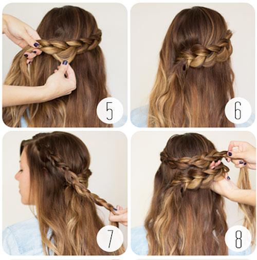những kiểu tóc thắt bím đẹp 8