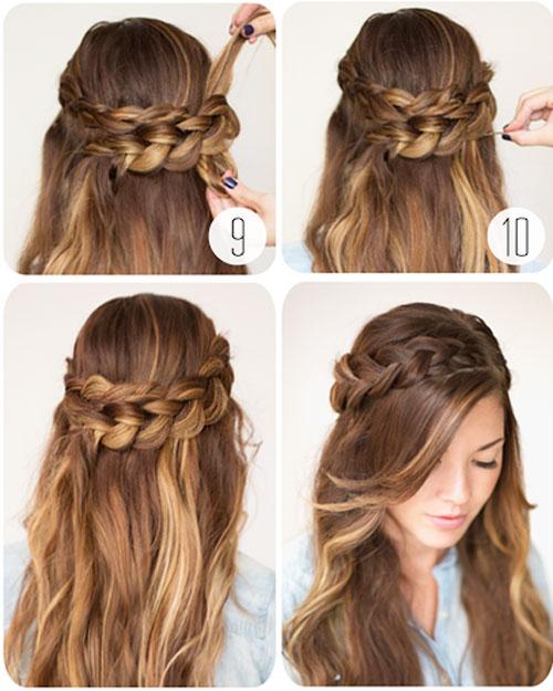 những kiểu tóc thắt bím đẹp 9