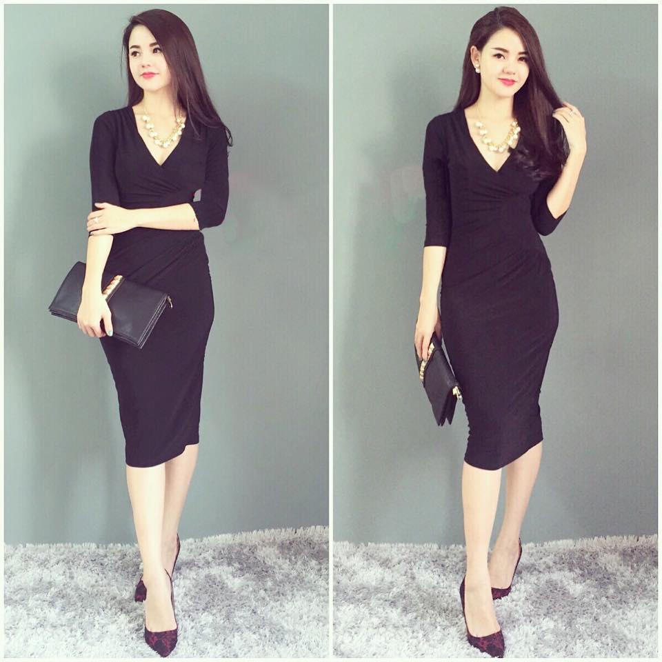 váy màu đen bí ẩn