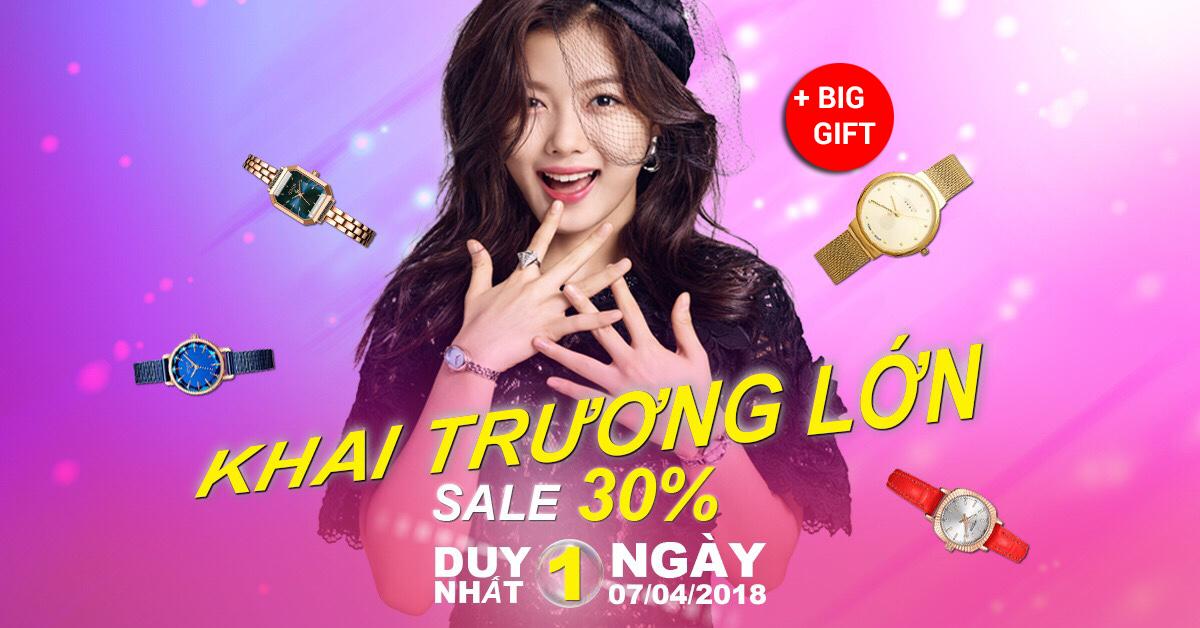 Khai trương showroom Đồng Hồ Julius HCM