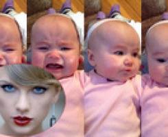 Bé gái ngừng khóc khi nghe nhạc của Taylor Swift Bé gái ngừng khóc khi nghe nhạc của Taylor Swift Bé gái ngừng khóc khi nghe nhạc của Taylor Swift Bé gái ngừng khóc khi nghe nhạc của Taylor Swift