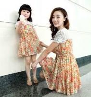 Váy đôi cho mẹ và bé