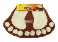 Combo 2 thảm lau hình bàn chân xinh xắn (40*60cm)