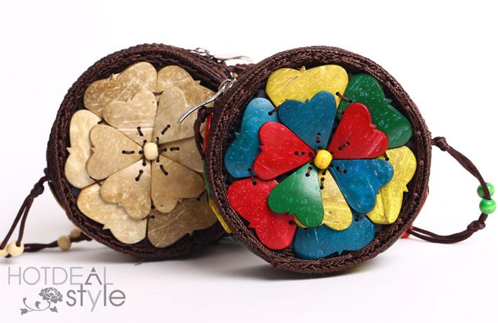 Túi Xách Handmade Từ Vỏ Dừa