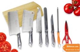 Bộ dao thớt 7 món