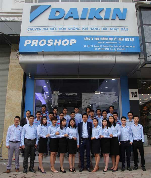 Tổng đại lý Proshop điều hòa Daikin Sen Việt