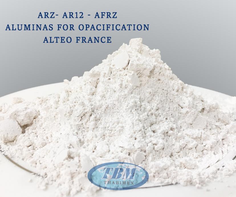 oxit nhôm thay the zircon cho sản xuất xương, men sứ