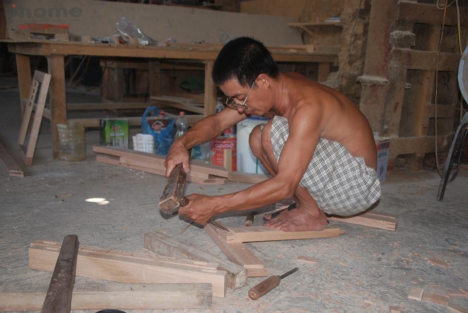 Xuong san xuat va thi cong noi that go tu nhien Noi that Jhome 6