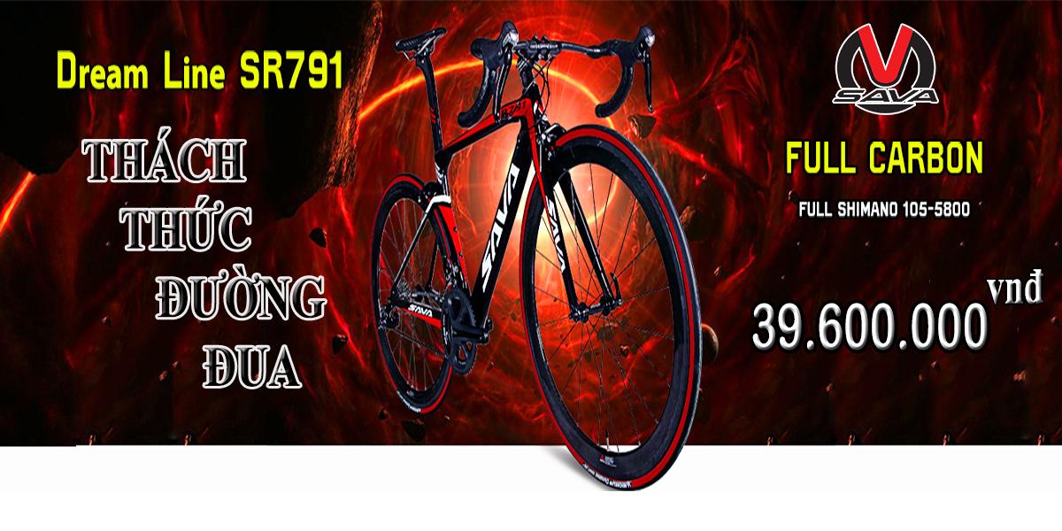 Xe đạp thể thao sava sr791