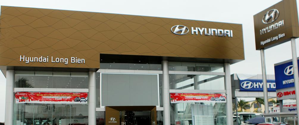 Showroom Hyundai Long Biên - Showroom oto Hyundai Long Biên - Đại lý ủy quyền Hyundai Thành Công Việt Nam