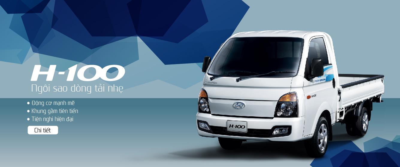 Hyundai Porter H-100: Ngôi sao dòng tải nhẹ