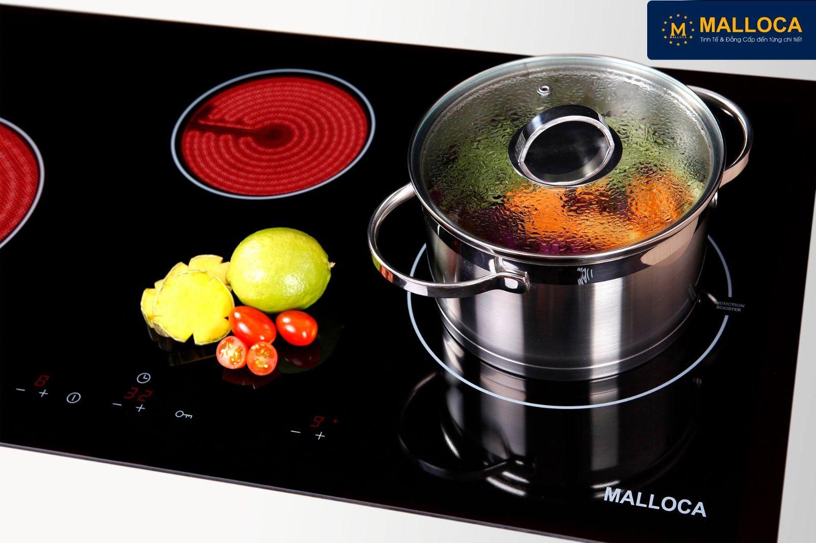 bếp điện từ malloca có tốt khống ?