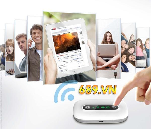 bộ phát wifi 3G từ sim 3G huawei e5331 chính hãng