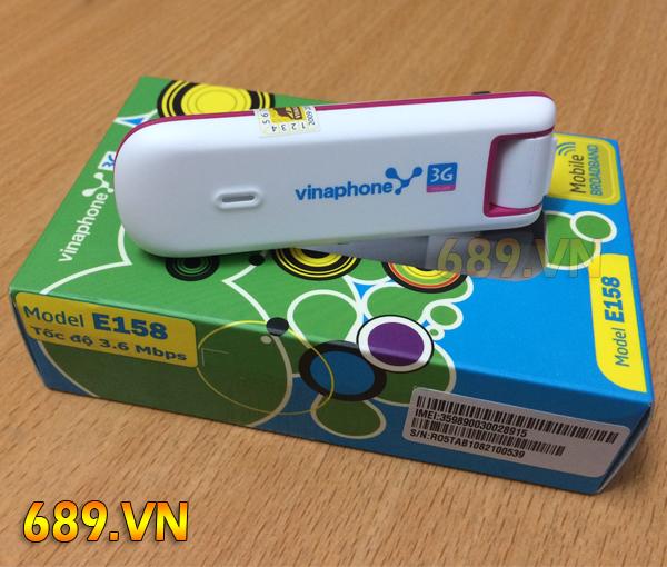 Usb 3G VinaPhone E158 Chính Hãng Đa Mạng