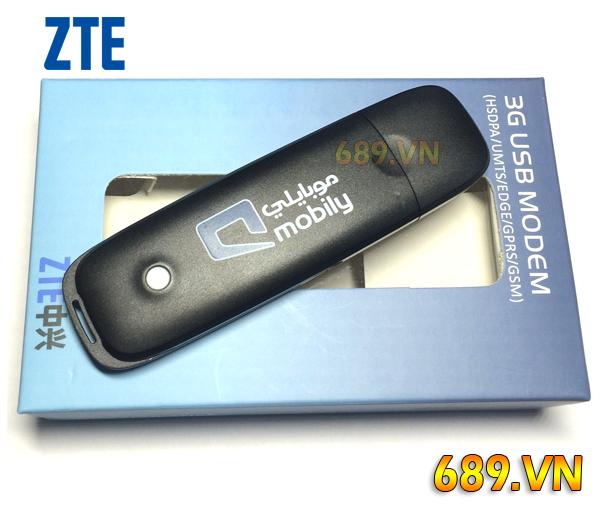 Usb 3G ZTE MF665C Tốc Độ 21.6Mbps Đa Mạng Giá Rẻ