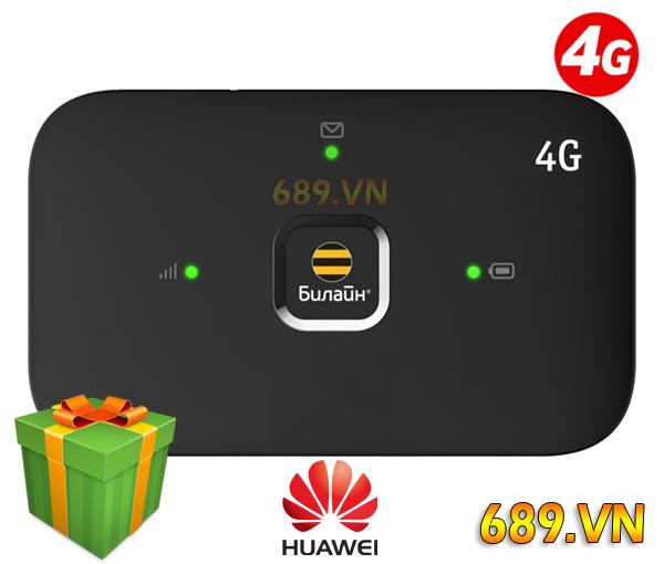 Bộ Phát Wifi 4G Huawei E5573 Beeline Quốc Tế