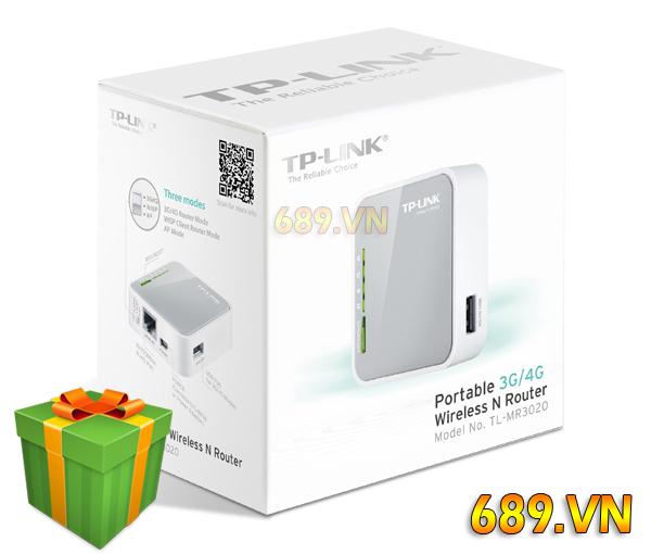 Bộ Phát WiFi 4G TP-Link MR3020 Tốc Độ Cao