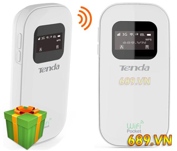 Bộ Phát WiFi 3G Tenda 3G 185 Chính Hãng