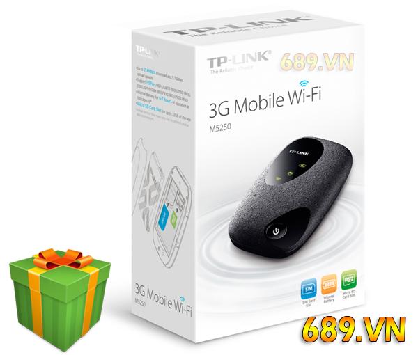 TPlink M5250 Bộ Phát Wifi 3G Di Động