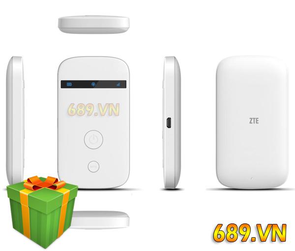 Bộ Phát Wifi 4G ZTE MF90+ Chính Hãng Giá Rẻ