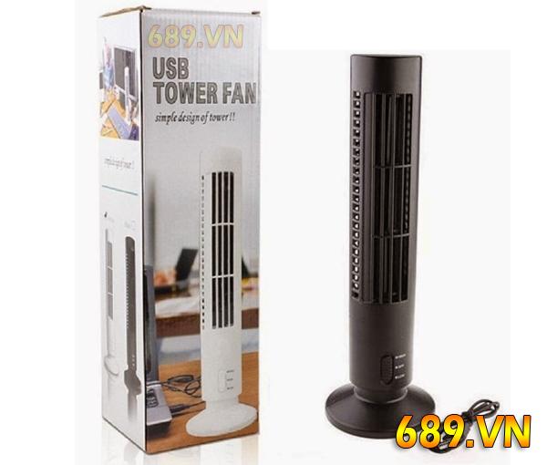 Điều Hòa Cây Mini Usb Tower Fan Cắm Cổng Usb
