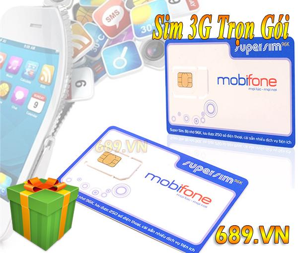 Sim Dcom 3G MobiFone Trọn Gói Giá Rẻ