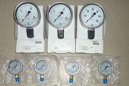 đồng hồ đo áp suất nishin