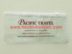 Bao bì nhựa PVC có dây kéo