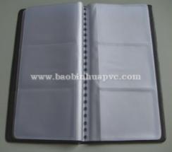 PVC name card book 05