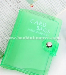 PVC name card book 04