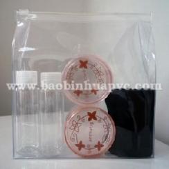 Bao PVC đựng mỹ phẩm 40