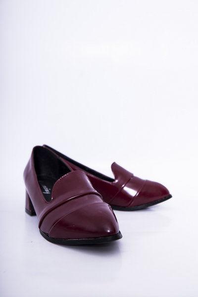 Giày nữ đế cao da bóng 18018 - Boocdo - 39